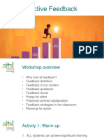 Aitsl Powerpoint Effective Feedback