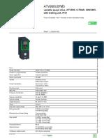 Altivar Process 930 Variable Frequency Drives VFD_ATV930U07M3