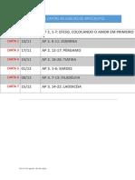 CRONOGRAMA AS 7 IGREJAS DE APOCALIPSE.docx