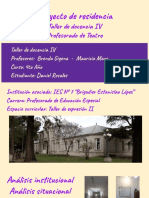 Presentación residencias