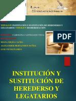 Institucion de Herederos