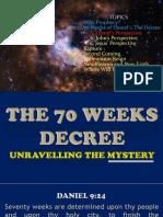 Sept 2 - Daniel 70 Weeks