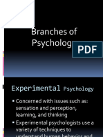Chapter 1 c .Branches of Psychology3 (2)