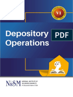 NISM-Series-VI-Depository Operations Certification Exam -October 2019