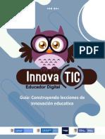 3 Guía Construyendo Lecciones de Innovación Educativa