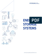 ESS (Energy Storage System) Catalogue