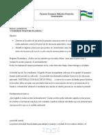 Secuencia didáctica proyectos transversales