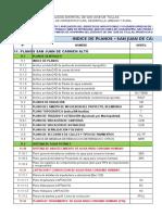 11.1 Indice de Planos Carmen Alto.
