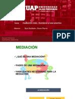 Mediación Roles , Funciones y Caso Practico