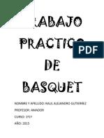 Trabajo Practico de Basquet