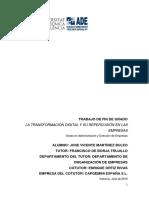 Martínez - La Transformación Digital y Su Repercusión en Las Empresas