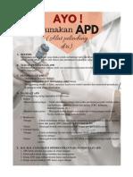 Selebaran Tentang APD