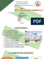 Metaformismo y Rocas Metamorficas