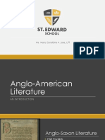 Anglo American Literature