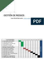 Gestión de Riesgos Clase 1 y 2