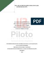 Proyecto Final Programacion Lina