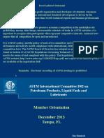 D02 Member Orientation December 2013