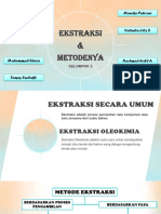 Ppt Karakteristik Minyak Dan Metode Ekstraksi