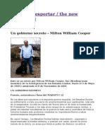 Un Gobierno Secreto – Milton William Cooper