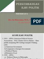 Pertemuan 2_skope & Perk Ilmu Pol
