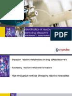Reactive Metabolites PButler