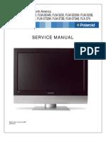 Polaroid FLM-Series-26!32!37-Service Manual Final NA_20070418