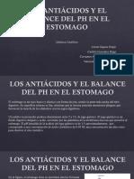 Los Antiácidos y El Balance Del Ph