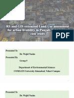 Presennation on RS and GIS