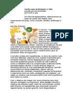 Nutrição 9 Alimentos Que Prolongam a Vida