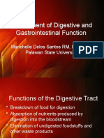 Assessment of Digestive and Gastrointestinal Function