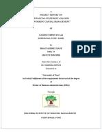 Financial Statement Analysis Sip....Bhagyashree