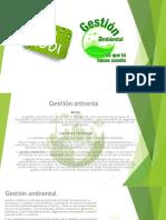 Gestión ambiental 14001