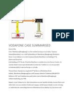 Vodafone Case Summary