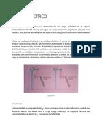 Caracteristicas Del Campo Electrico