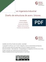 Fuente Diseño de Estructuras de Acero - Uniones