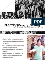 Election Security Planning