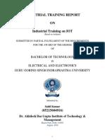 Nsic Training External Report