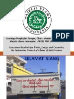 Sistem Jaminan Halal