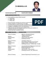 Manolo Guinto Mendiola Jr Updated