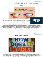 Benefits of Oil Pulling Tips Pulling for Your Teeth
