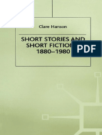 Clare Hanson Short Stories and Short Fictions, 1880–1980 (1985, Palgrave Macmillan UK)