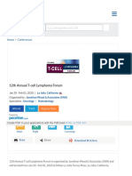 12th Annual T-Cell Lymphoma Forum 2020 | eMedEvents