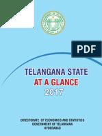 Telangana State at a Glance 2017