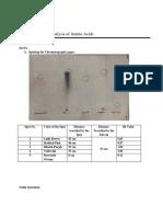 Chromatographic Analysis of Amino Acids