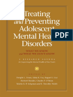 Childhood and Adolescent disorders