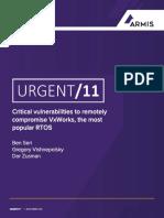 Urgent11 Whitepaper