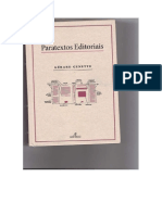 Paratextos Editoriais GENETTE