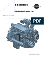 DEUTZ TCD6.1 L6 Trouble Codes List