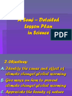 Semi Detailed Lesson plan effects of climate change.ppt
