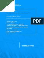 Proyecto final de Master- Proyecto de empresa completo